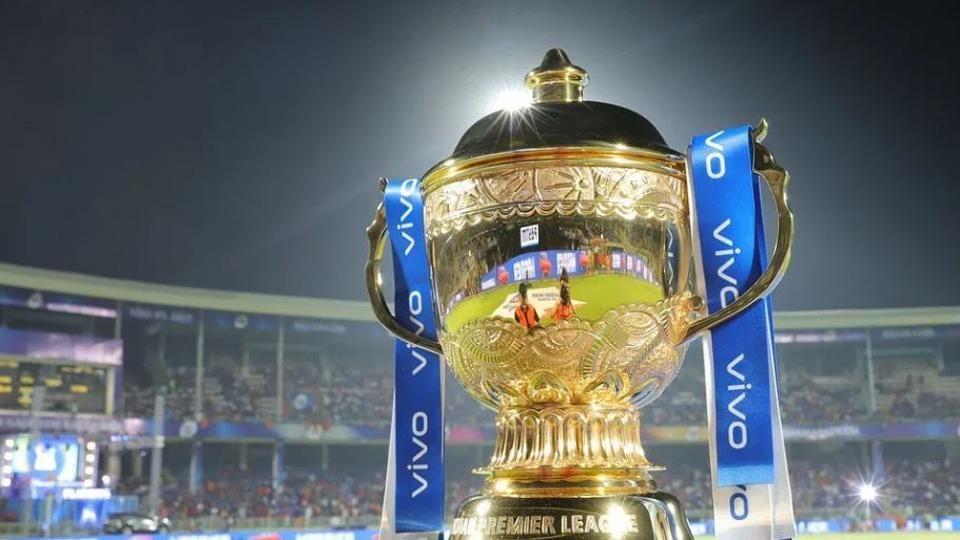 The Indian Premier League trophy.