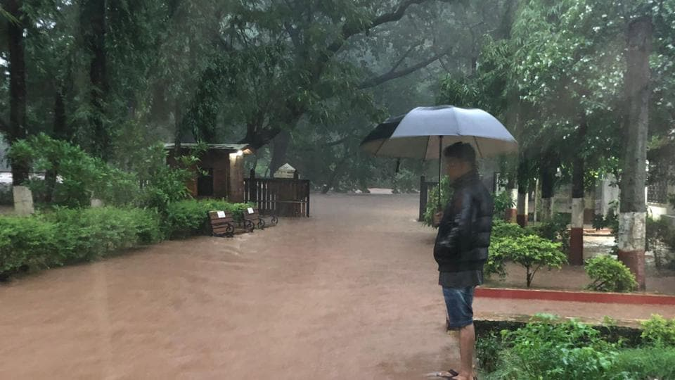 The weather bureau has predicted extremely heavy rain for the rest of Tuesday, Wednesday, and Thursday.