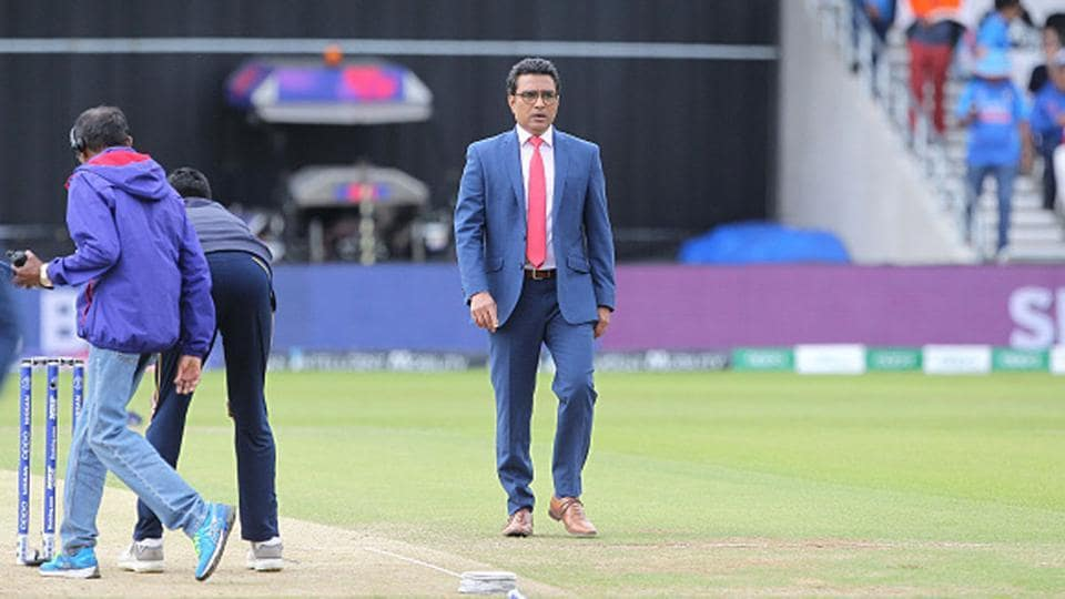 Is this the last we've heard of Sanjay Manjrekar as commentator?