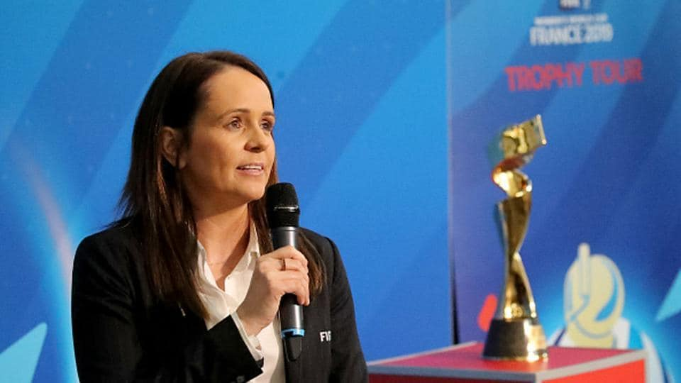 Head of FIFA's women's competitions, Sara Booth.