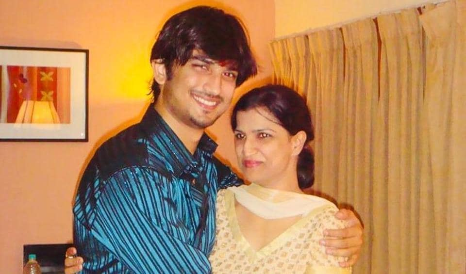 Sushant SinghRajput with his sister Meetu Singh.