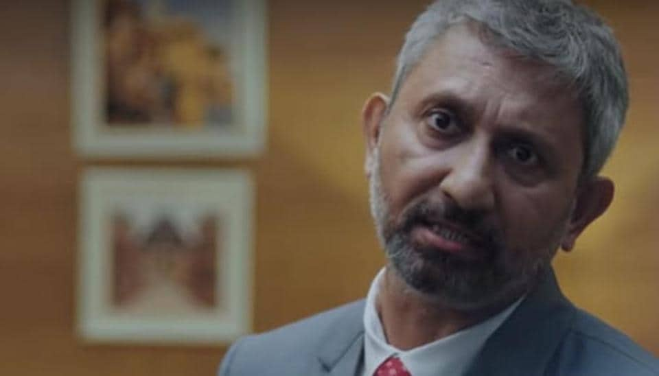 Neeraj Kabi in a still from Avrodh - The Siege Within.