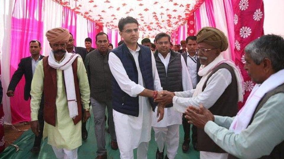 Congress leaders have alleged that Pilot camp is staying at a Haryana hotel on BJP's hospitality. They have also accused the BJP of attempting to topple the Gehlot-led government in Rajasthan. (Photo @SachinPilot)