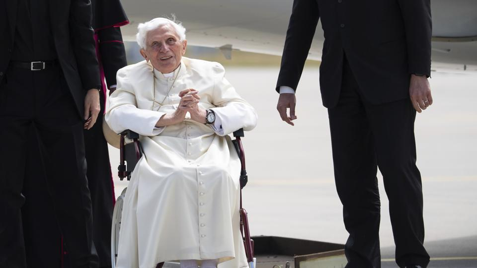 The clarification came hours after Benedict's biographer, Peter Seewald, sparked alarm by telling the Passauer Neue Presse that he had found the 93-year-old ex-pope exceptionally frail when he visited him on Saturday.