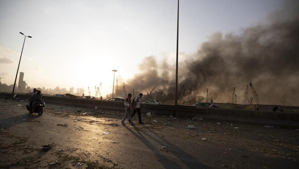 White House says U.S. tracking explosion in Beirut closely