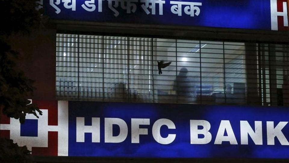 HDFC Bank shares advanced 4% in Mumbai on Tuesday.