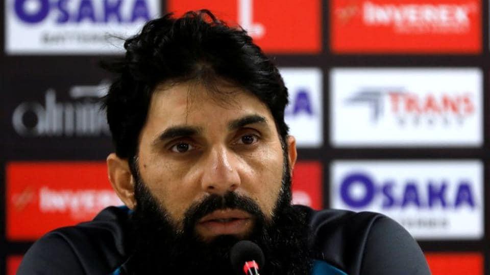 Pakistan's cricket coach Misbah-ul-Haq.