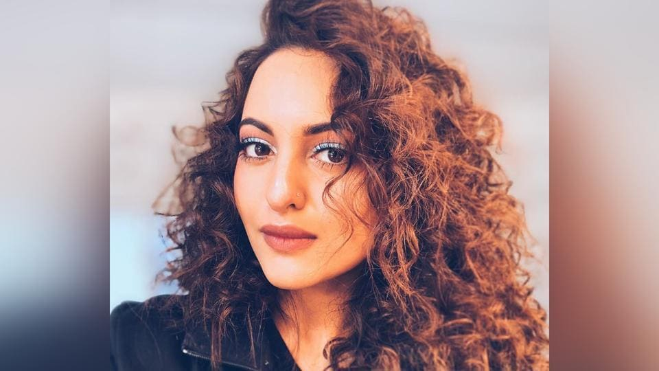 Sonakshi Sinha showed off a curly mane on Instagram.