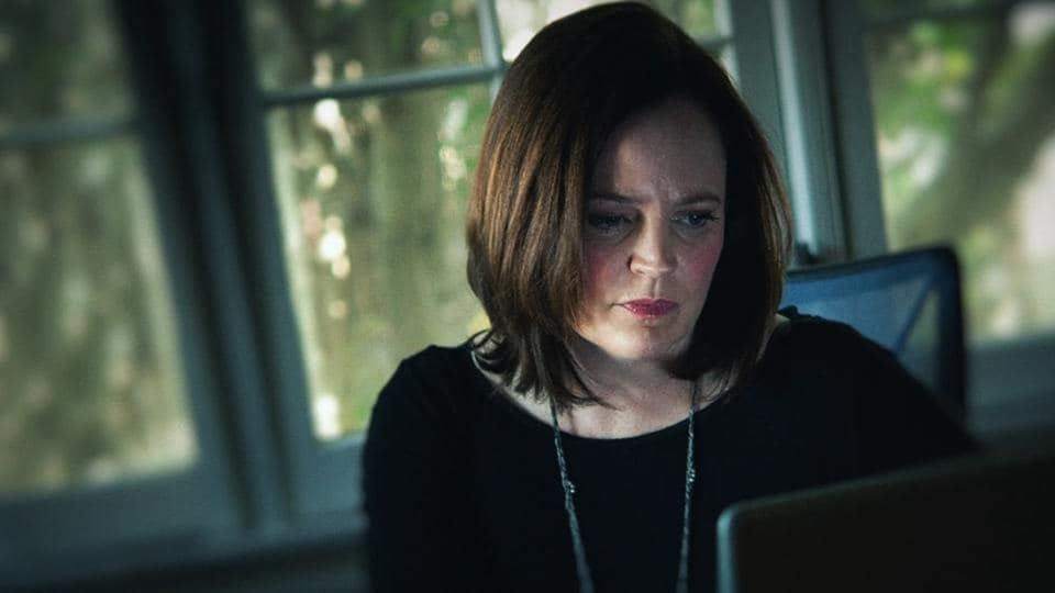 I'll Be Gone in the Dark review: Michelle McNamara in a still from the HBO show.
