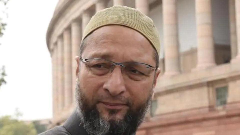All India Majlis-e-Ittehad-ul-Muslimeen (AIMIM) chief Asaduddin Owaisi .