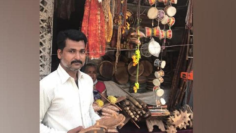 Azam, who is working with seven others to make these Khadaus, expects a rise in its sales after the construction of Ram Temple in the holy city.