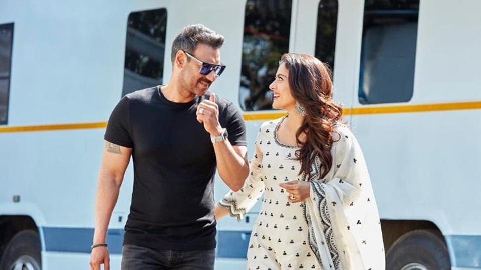 Ajay Devgn has wished Kajol on her birthday.