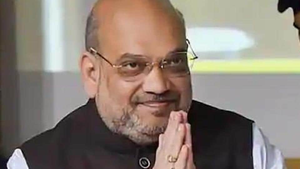 Amit Shah also said that the construction of the temple has become possible because of the decisive leadership of Modi.