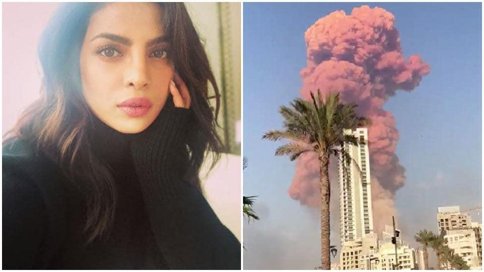 Priyanka Chopra is praying for Beirut.