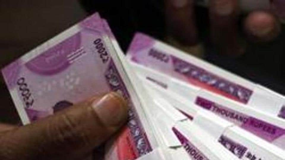Forex traders said positive trend in the equity markets, weak American currency and sustained foreign fund inflows supported the rupee.