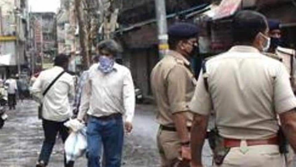 The police officer allegedly kicked the complainant in the stomach and slapped him.
