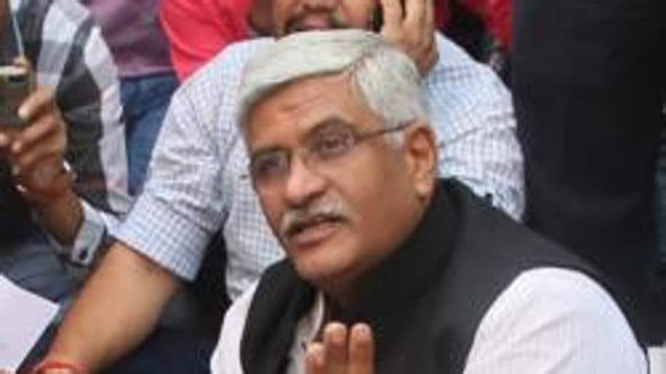 File photo: Union minister Gajendra Singh Shekhawat.