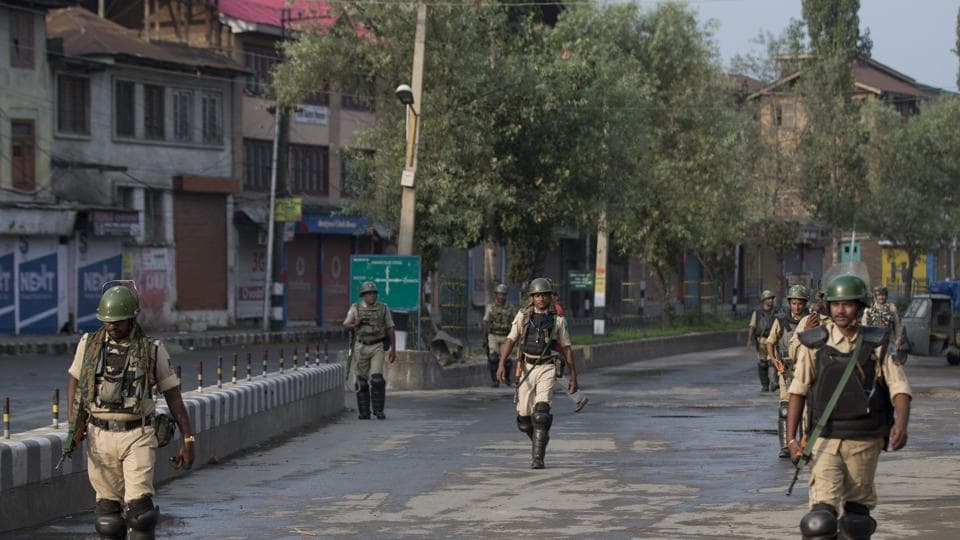 According to government data, the number of violent incidents in Kashmir was down to 120 from January to July, compared to 198 during the same time last year.