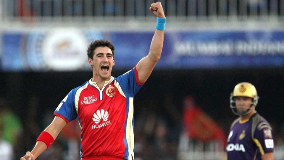 File Photo of Mitchell Starc during an IPL match
