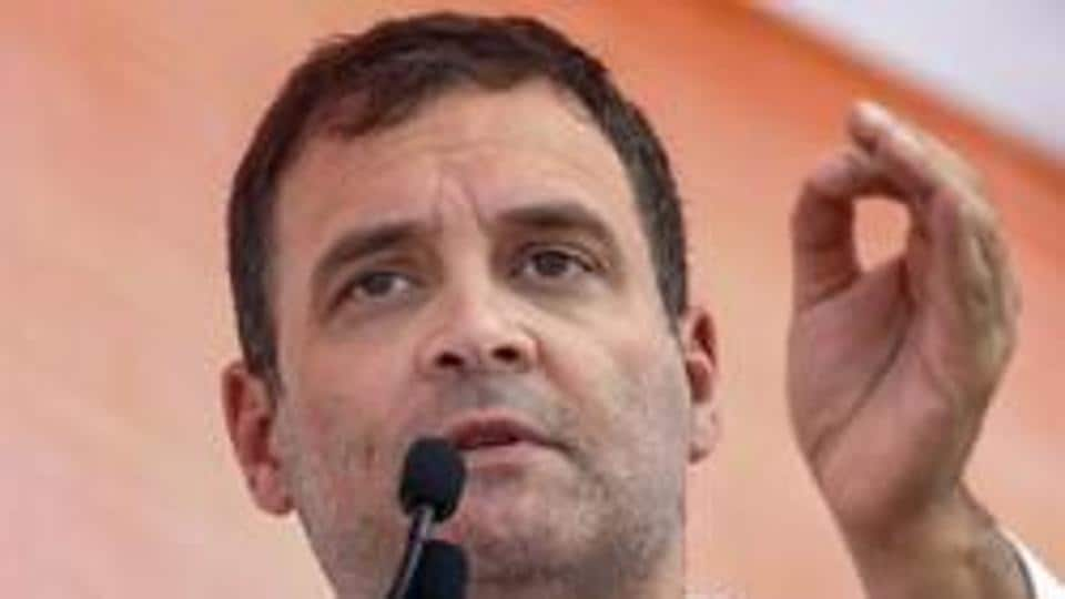 File photo: Congress leader and former party chief Rahul Gandhi.