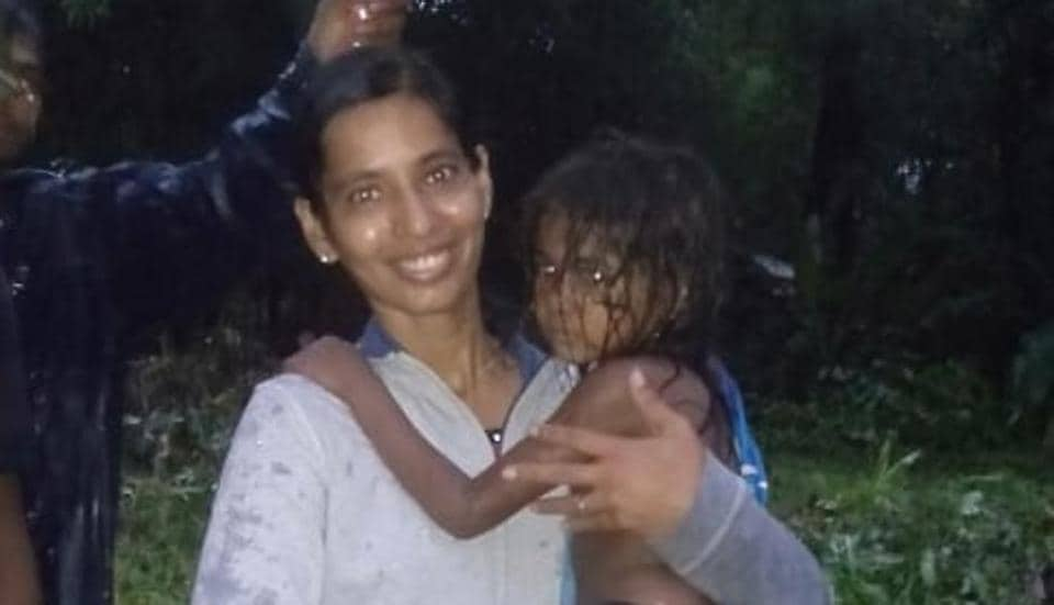 The five-year-old girl fell into the nullah around 2am in the night after their house was damaged due to heavy rains.