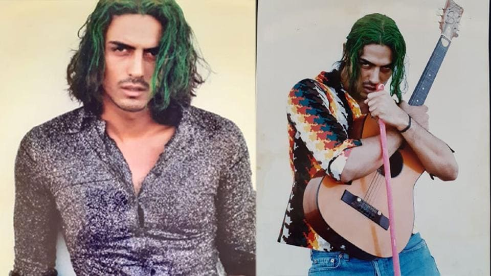 Arjun Rampal has shared two throwback pictures on Instagram.