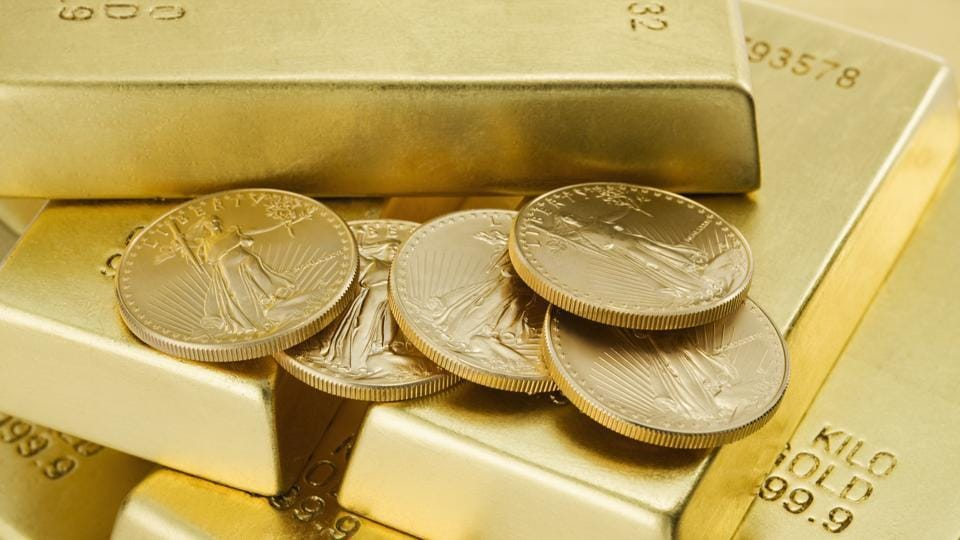 Gold Coins and Ingots