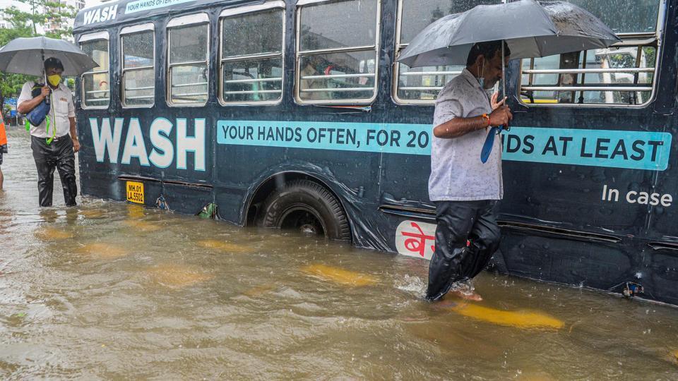 According to BMC's update till 8 am, areas like BPT Colony at Wadala, Nair Hospital in central Mumbai, Maharshi Karve Road and Sakkar Panchayat area in south Mumbai were still water-logged.