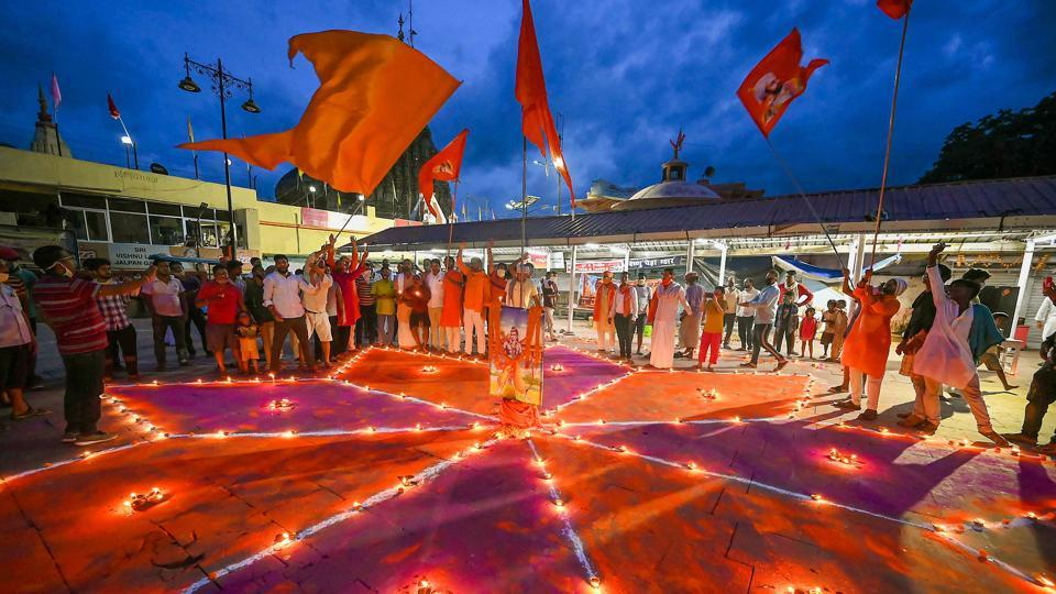 """Referring to the temple's cultural connotations, Manmohan Vaidya, RSS's joint general secretary, said it will help people connect with their roots. """"Till now the realization of the self was not allowed."""""""