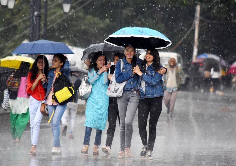 Monsoon was normal in the state on Thursday as heavy rains lashed Solan district while light to moderate rainfall occurred at many places in the state.