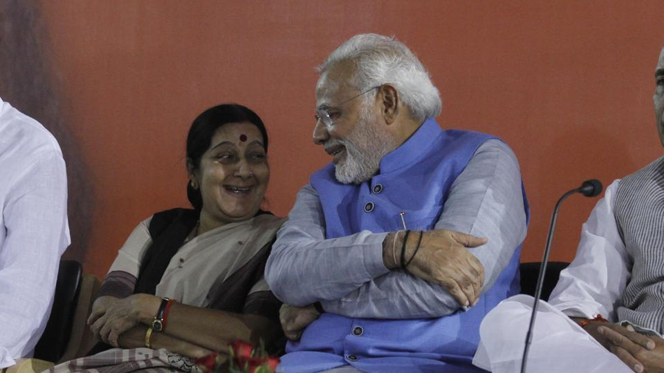 PM Modi also shared a video of the remarks he had made at a prayer meeting organised in Sushma Swaraj's memory last year.