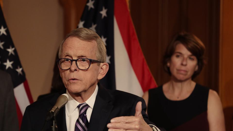 """""""The President wishes Governor DeWine a speedy and full recovery and commends the job he's doing for the great state of Ohio,"""" said White House spokesman Judd Deere."""
