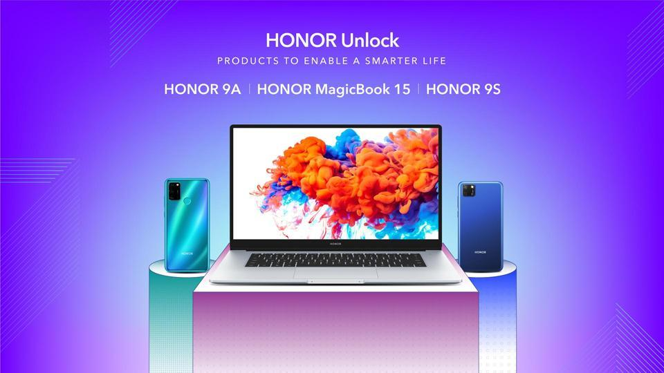 HONOR 9A and HONOR 9S are two new budget smartphones. HONOR has also forayed into the laptop segment with the launch of HONOR MagicBook 15.