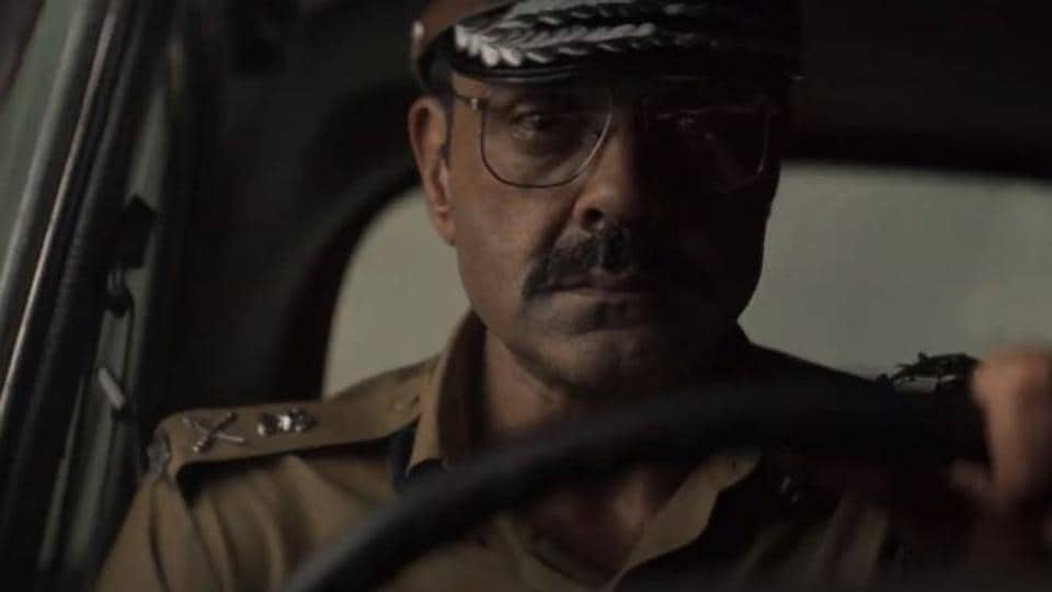 Bobby Deol in a still from the Class of 83 trailer.