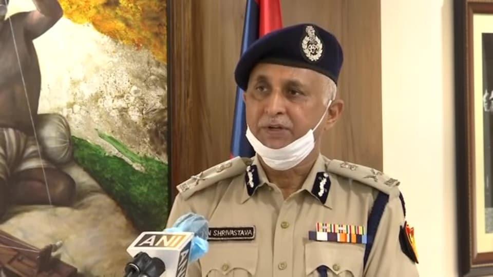 DelhiCommissioner of Police SNSrivastava