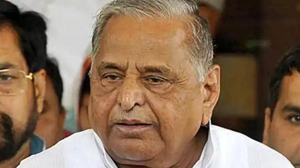 File photo of Samajwadi Party patriarch Mulayam Singh Yadav.