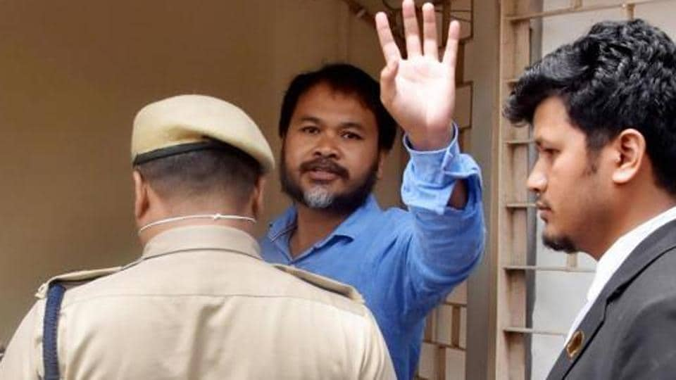 Krishak Mukti Sangram Samiti leader Akhil Gogoi 's arrest and prosecution has been questioned by rights activists.