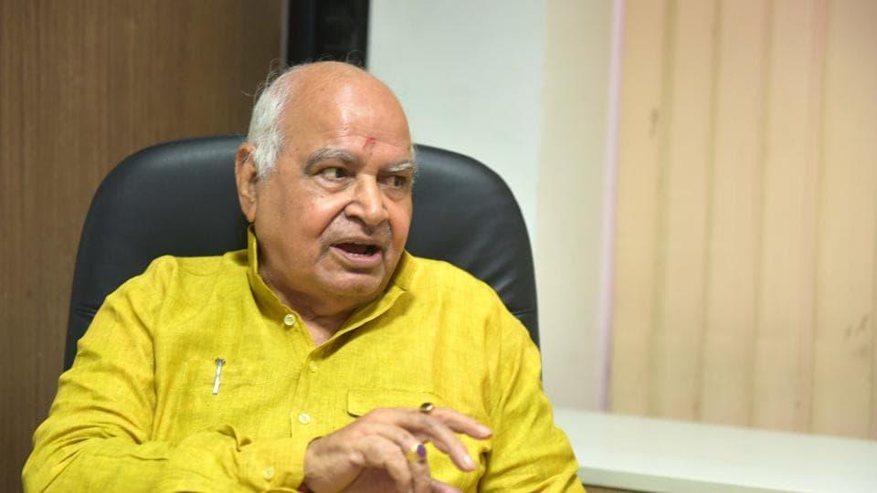 UP Assembly Speaker Hriday Narayan Dikshit.