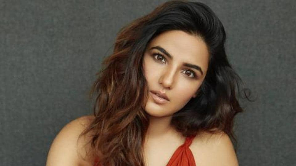 Actor Jasmin Bhasin shot for TV shows Khatron Ke Khiladi - Made in India and Funhit Mein Jaari recently.