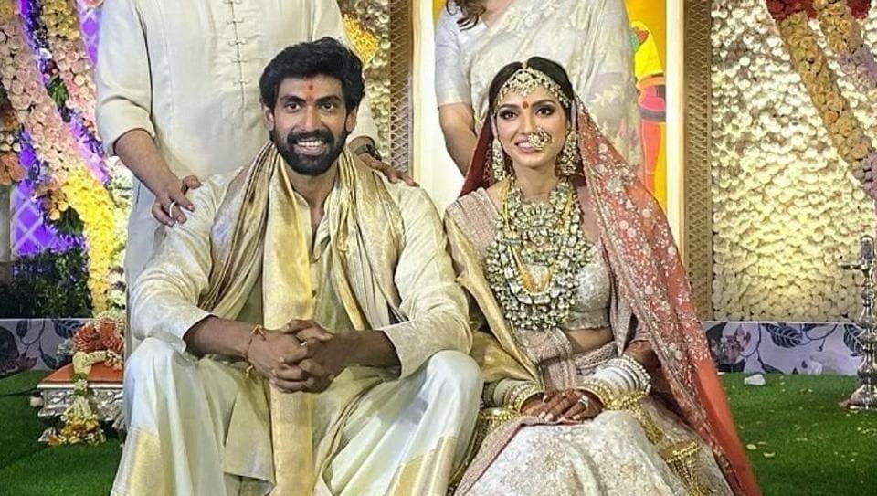 Rana Daggubati got married to Miheeka Bajaj in Hyderabad on Saturday.