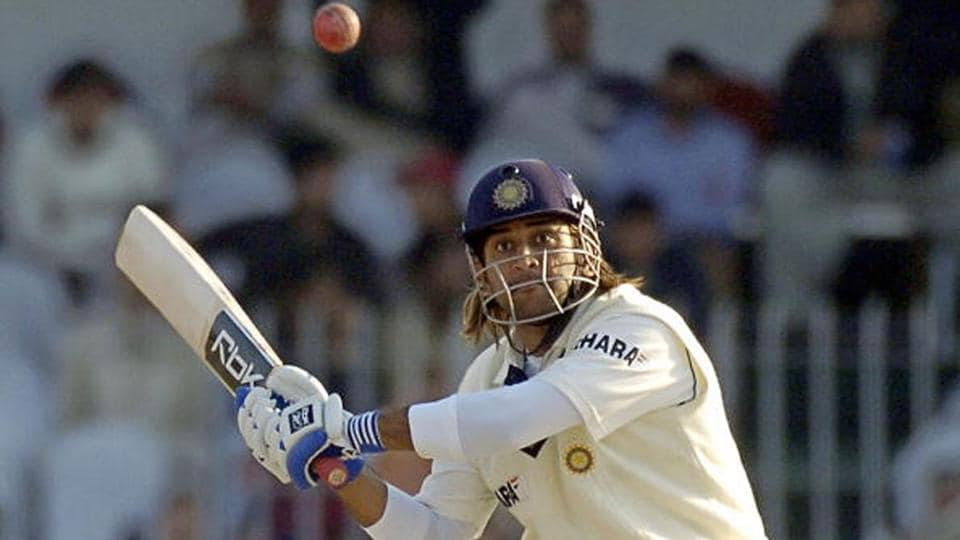 MS Dhoni smashed Shoaib Akhtar for three fours in an over before the former pacer bowled a beamer.