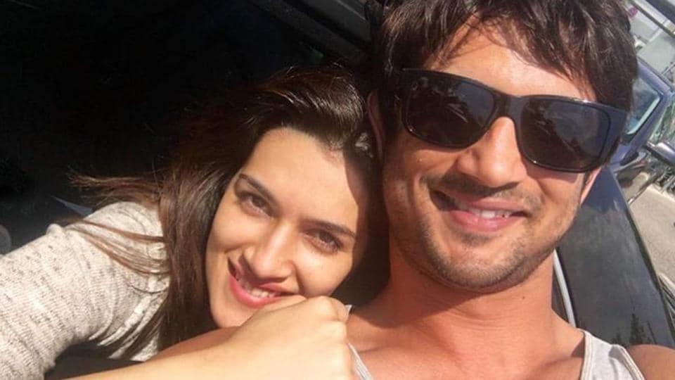 Kriti Sanon and Sushant Singh Rajput worked together in Raabta.