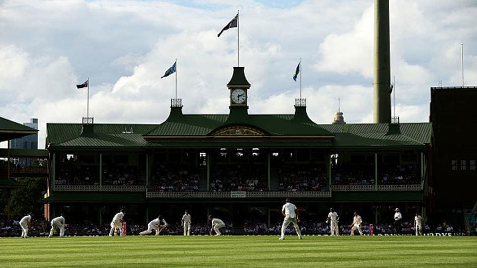 A general view during day four of the Third Test match between Australia and Pakistan at Sydney Cricket Ground.