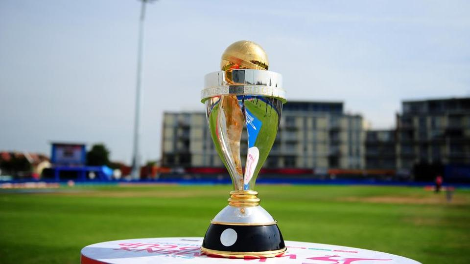 Women's Cricket World Cup Trophy.