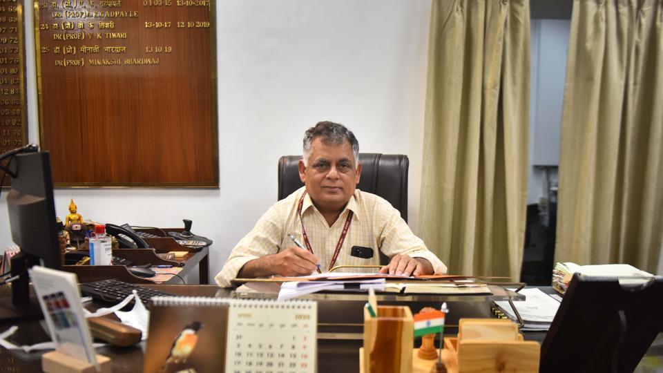 Dr Rana AK  Singh, Medical Superintendent and Director of Ram Manohar Lohia (RML) Hospital in New Delhi