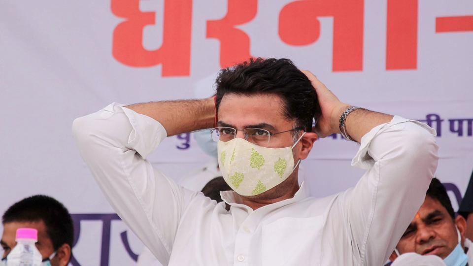 Former Rajasthan deputy chief minister Sachin Pilot