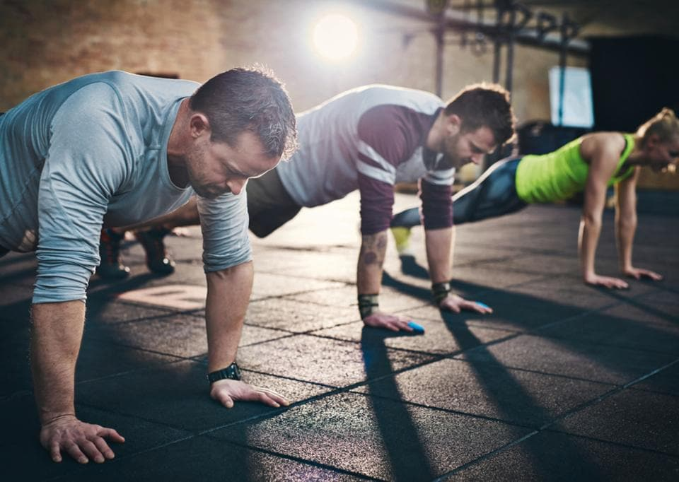The weights will feel heavy, the exercises awkward, the body will refuse to easily move into positions during the first week at the gym