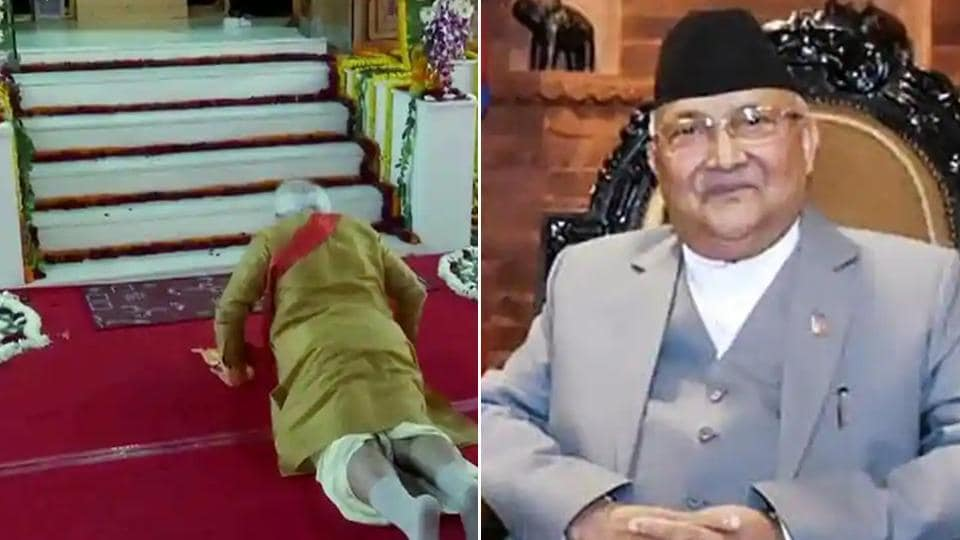 PM Oli's continuing effort to appropriate Lord Ram's birthplace has drawn sharp reactions from religious leaders in Nepal including the priests at the Janaki temple.