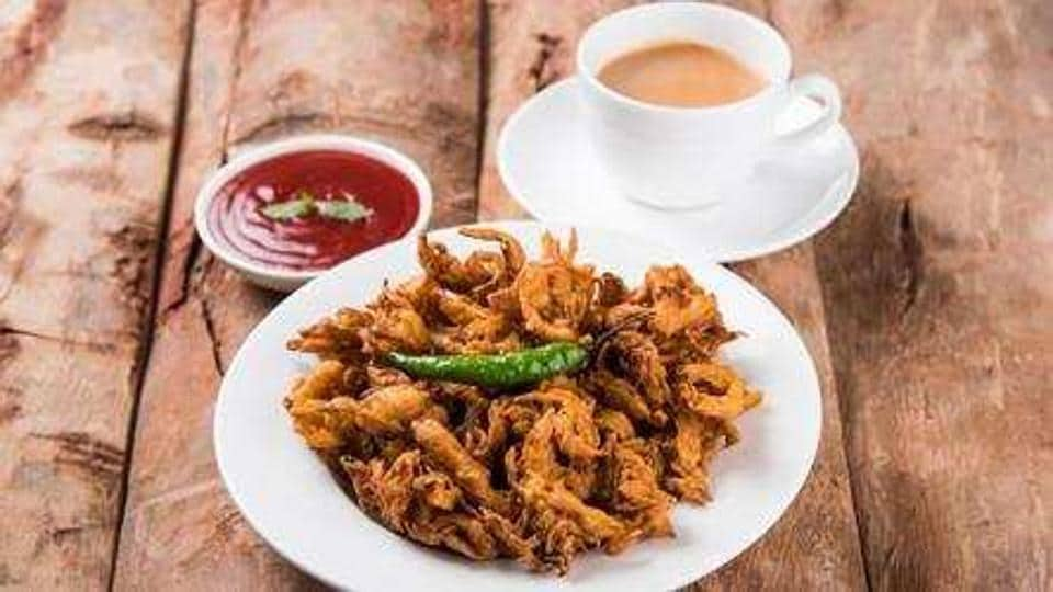An ideal monsoon evening calls for a steaming cup of tea and a platter full of snacks.