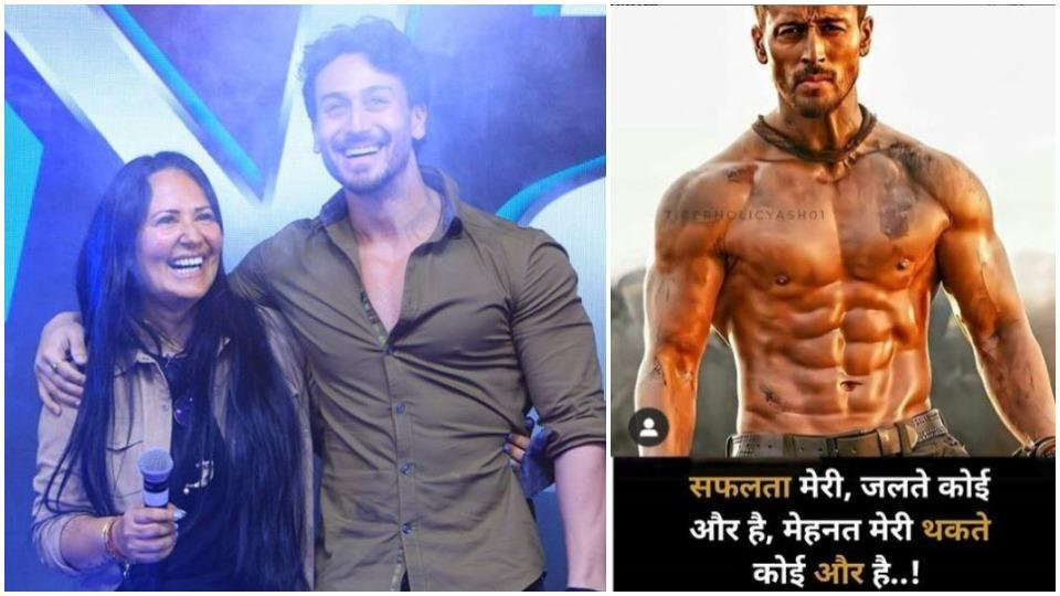 Tiger Shroff's mother Ayesha shares message for his haters: 'The success is mine and others are jealous' – bollywood